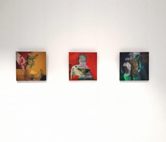 Ausstellungsansicht @temp Gallery